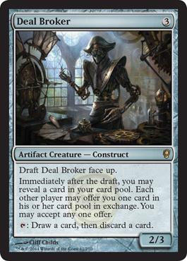 Common Conspiracy CNS Magic Card 4x MTG: Brago/'s Favor