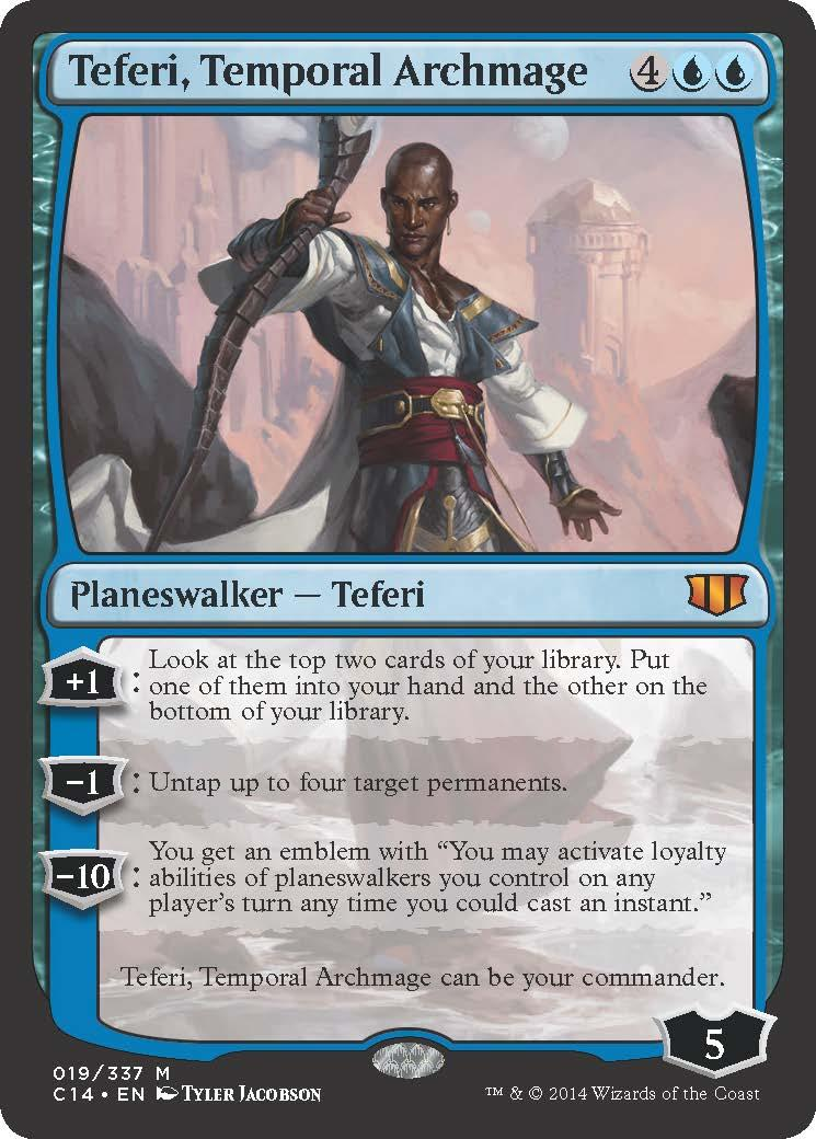comm teferi temporal archmage new card discussion the rumor