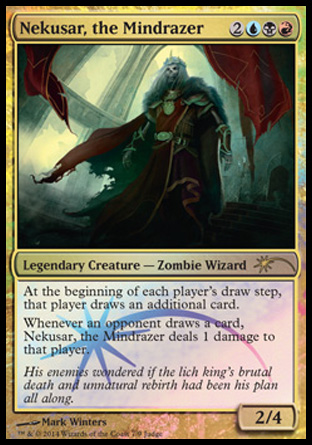 Nekusar The Mindrazer Creature Cards Mtg Salvation