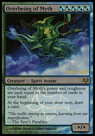 Overbeing of Myth - Creature - Cards - MTG Salvation