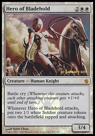 Hero Of Bladehold Creature Cards Mtg Salvation