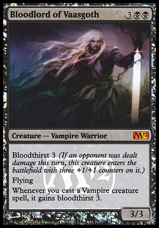 bloodlord of vaasgoth creature cards mtg salvation. Black Bedroom Furniture Sets. Home Design Ideas