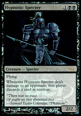 Hypnotic Specter - Creature - Cards - MTG Salvation