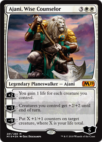 Ajani, Wise Counselor