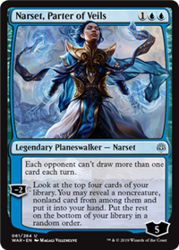 CUBE][WAR] War of the Spark Planeswalkers - Cube Card and